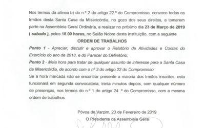 Assembleia Ordinária